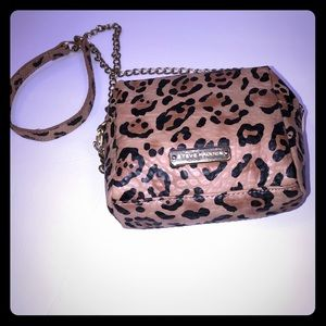 Steve Madden Mini Studded Cheetah Crossbody Bag